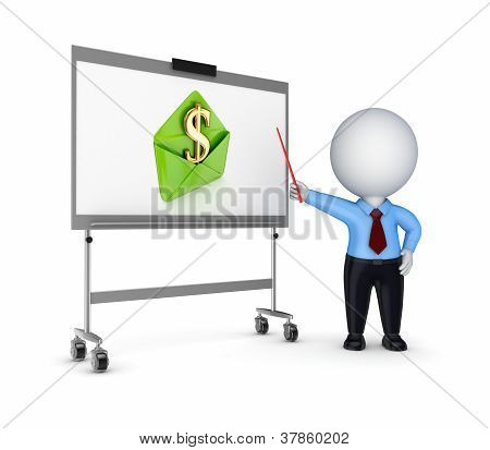 Business training concept.