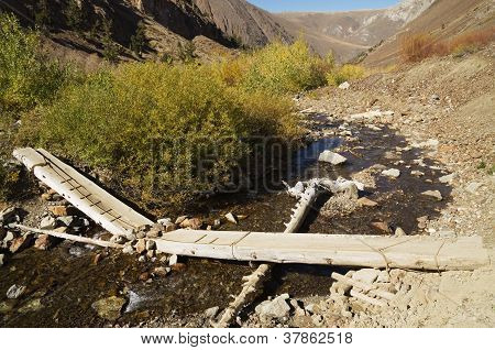 Broken Log Bridge