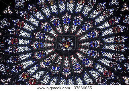 Rouen - Rose Window