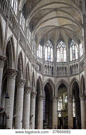 Rouen - Cathedral Interior