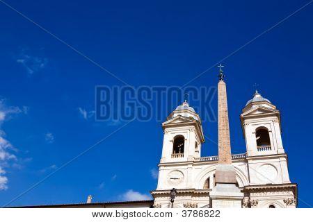 Church Trinita Dei Monti
