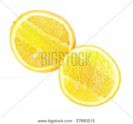 Bisected Orange