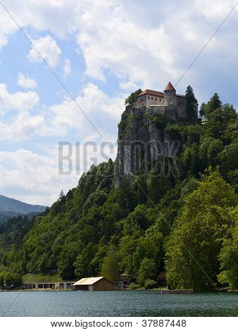 View On Bled Castle, Slovenia