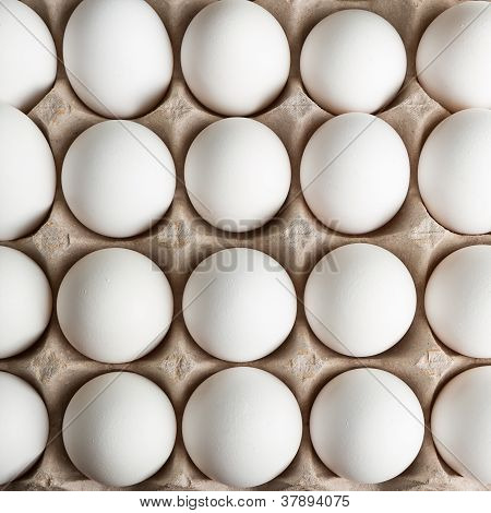 Top Down View Of Eggs