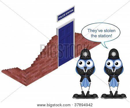 Stolen station