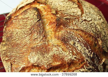 Closeup Of Artisan Bread
