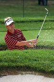 Постер, плакат: Профессиональный гольфист Дэвид Томс