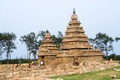 Seashore Temple, Mamallapuram, India