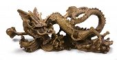 Metal Chinese Dragon Statue