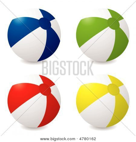Ball, Fun, Beach, Beachball, Pool, Toy, 3D, Blue, Color, Colorful, Colour, Colourful, Illustration,
