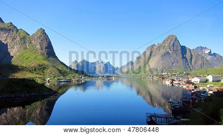 Lofoten Island in Norway