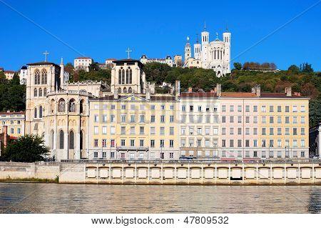 Famous View Of Lyon