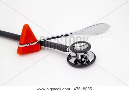 Medical Object Isolate On White Background