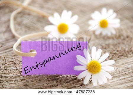 Purple Label mit Entspannung