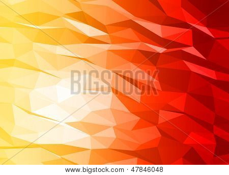 Abstract 3d triange vector background.