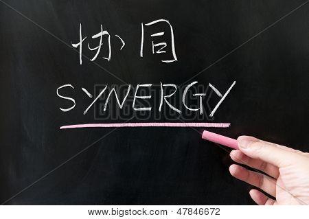 Concepto de sinergia