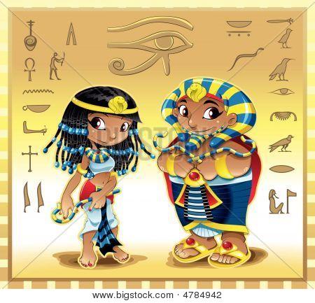 Pharaoh And Cleopatra