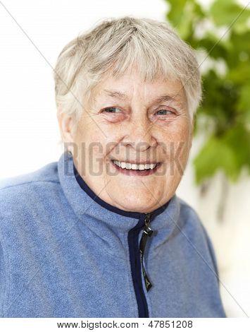 Active Senior Woman Portrait