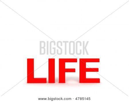 Life Text