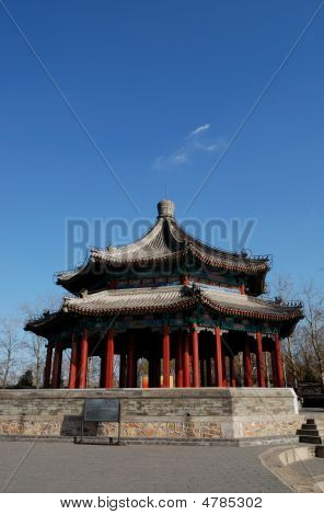 Pavilion In Chinese Style