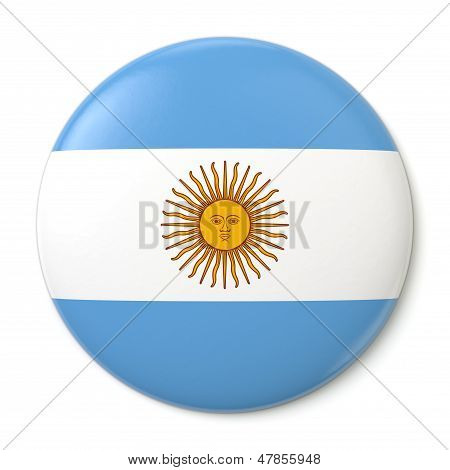 Argentina Pin-back