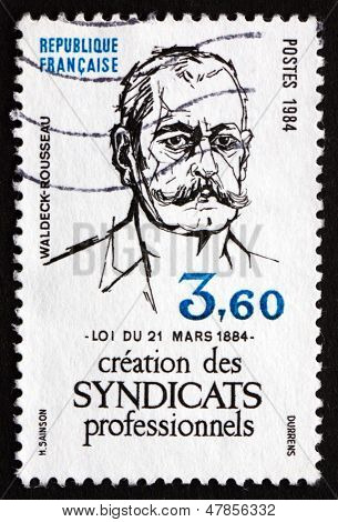 Postage Stamp France 1984 Pierre Waldeck-rousseau, Politician
