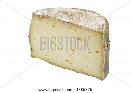Piece Of Tomme Cheese