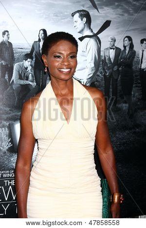 LOS ANGELES - JUL 10:  Adina Porter arrives at the HBO series