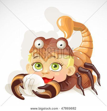 Bebê Zodíaco - signo Escorpião