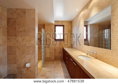 Interior design: Beautiful luxury bathroom