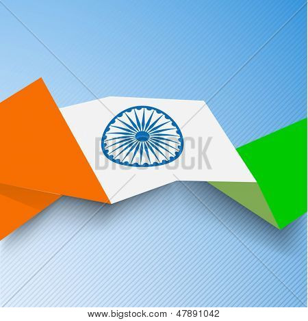 Creative concept for Indian Independence Day and Republic Day.