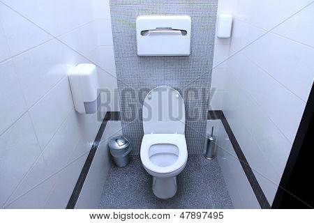 Öffentliche WC-Kabine