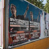 Outdoor de Springsteen concerto