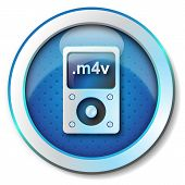 picture of beep  - Illustration metallic icon for web isolated - JPG