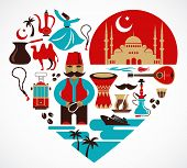 stock photo of glass heart  - Turkey  - JPG