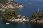 Parga bay in Greece
