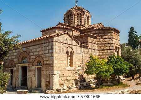 Church Agios Nikolaos Ragavas