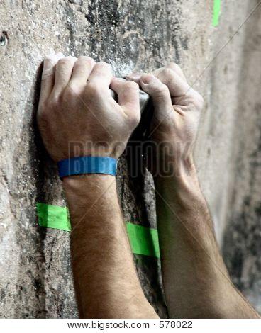 Rock Climber - Detail