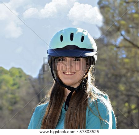 Beautiful Teen Equestrian