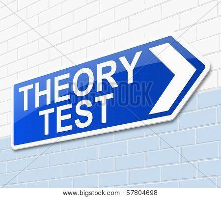 Theory Test Concept.