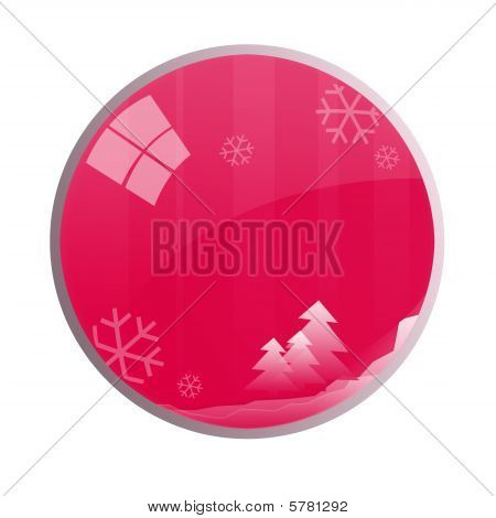 Glossy Christmas Ball