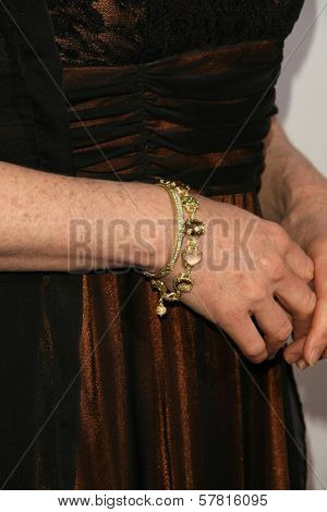 Susanna Thompson's jewelry  at the 23rd Annual Genesis Awards. Beverly Hilton Hotel, Beverly Hills, CA. 03-28-09