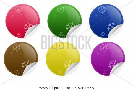 Glossy Blank Sticker