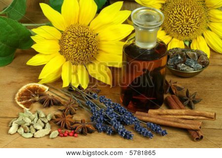 Spices And Flowers