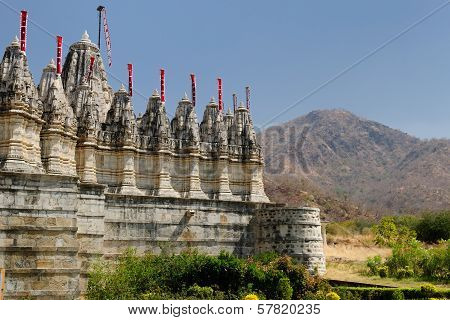 India, Jain Temple In Ranagpur