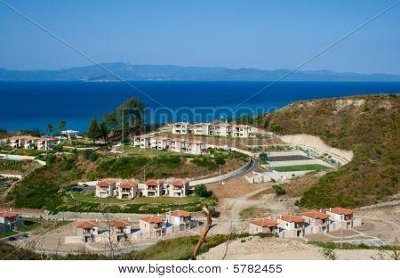 Small Coastal Town