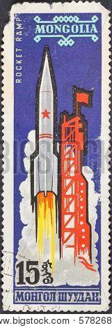 Launch Of Carrier Rocket Vostok L