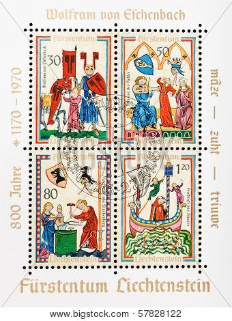 Pictures From Medieval Manuscript Manesse Codex