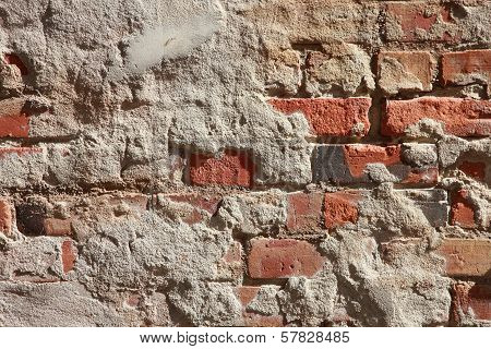 Stucco and Brick Textures Horizontal