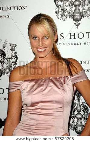 Amanda Beard   at the Grand Opening of SLS Hotel. SLS Hotel, Los Angeles, CA. 12-04-08